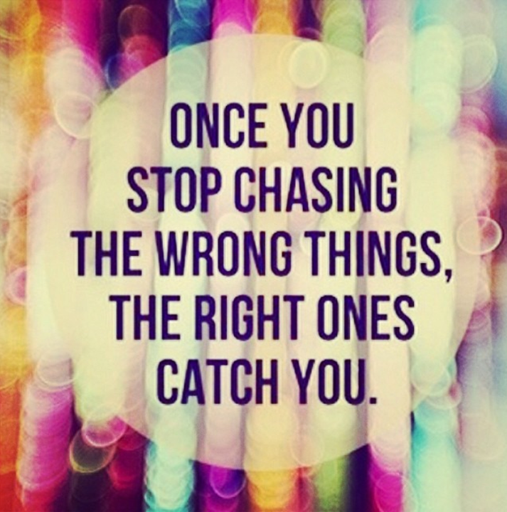 Tumblr Happy Life Quotes: Once You Stop Chasing Pictures, Photos, And Images For