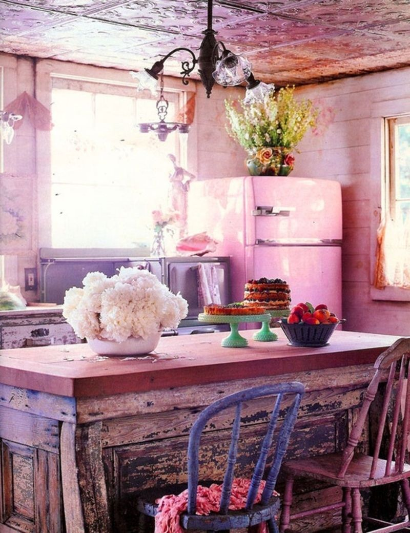 Pink Kitchen Rustic Pink Kitchen Pictures Photos And Images For Facebook