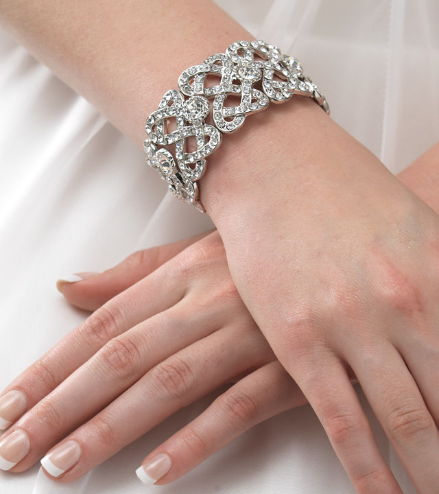 Beautiful Diamond Bracelet For The Bride