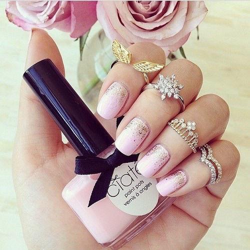Adorable Princess Nail Salon: Pretty Pink Princess Nails Pictures, Photos, And Images