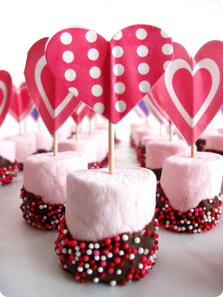 Valentines Day Marshmallow Treats Pictures, Photos, and Images for ...