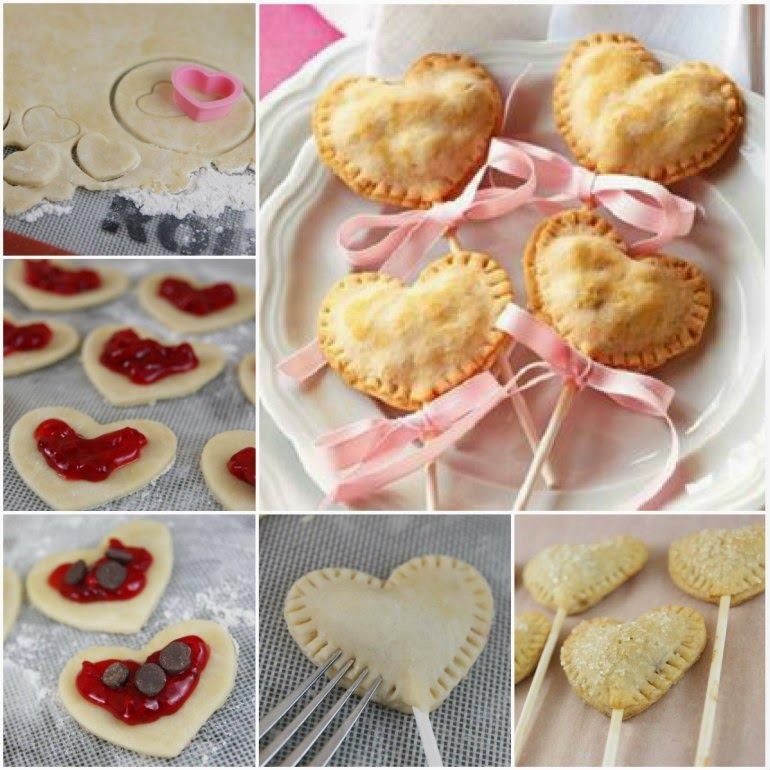 How To Make Heart Shaped Pie Pops Pictures, Photos, and Images for ...