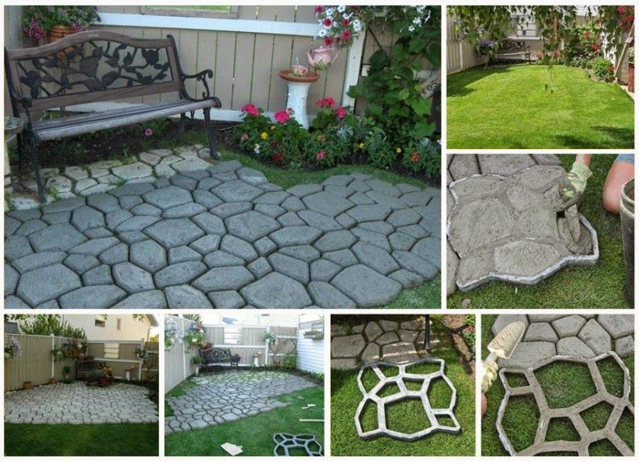 How To Make Cement Cobblestone Path Pictures Photos And