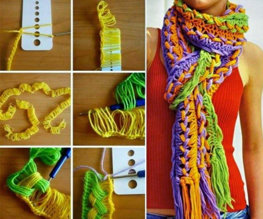 How To Make A Crochet Hook Scarf Pictures Photos And