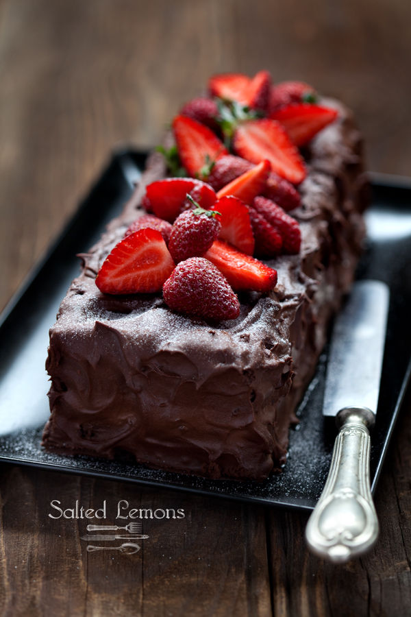 How To Make A Chocolate Strawberry Cake Pictures Photos