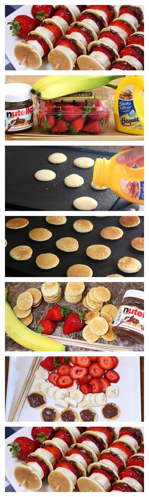 Nutella Pancake Kabobs Pictures, Photos, and Images for Facebook ...