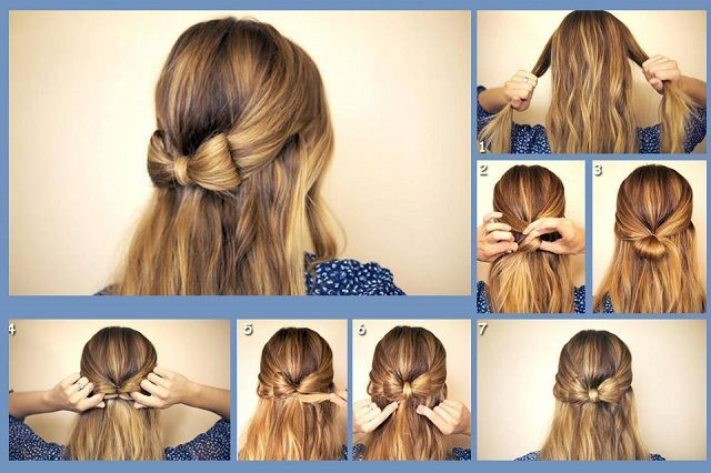 Awesome Diy Cute Hair Bow Pictures Photos And Images For Facebook Hairstyles For Women Draintrainus
