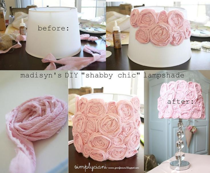 Diy Shabby : DIY Shabby Chic Lamp Makeover Pictures, Photos, and Images for ...
