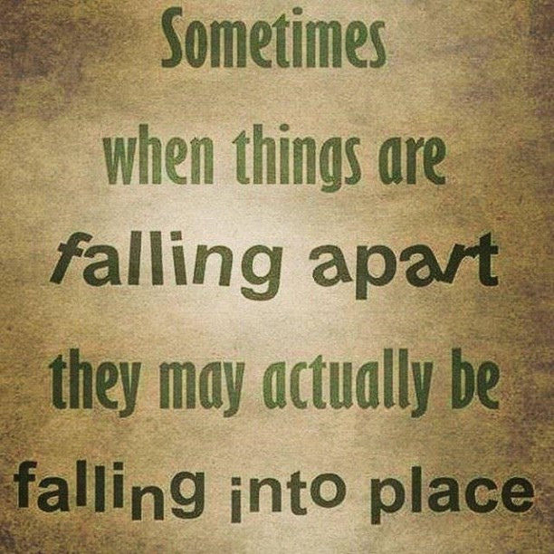 When Things Fall Apart Pictures Photos And Images For Facebook Cool Falling Apart Quotes
