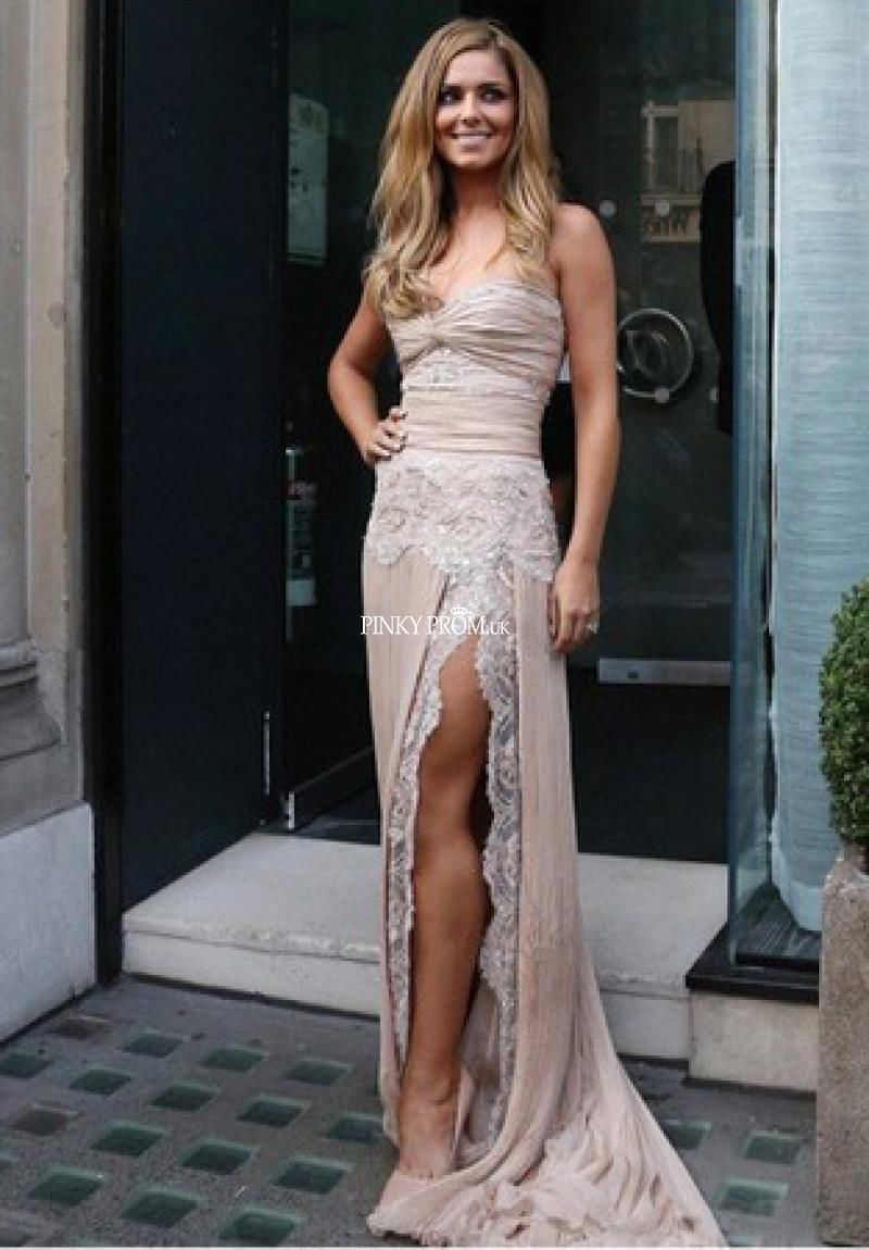 Dusty pink lace prom dress pictures photos and images for facebook