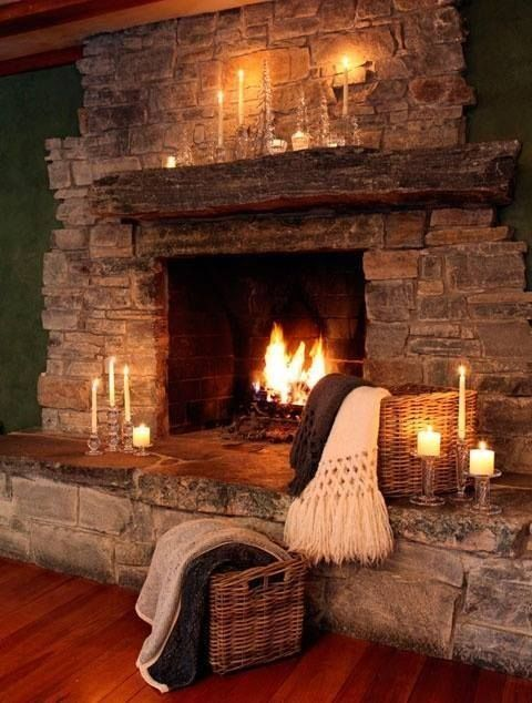 Romantic Fireplace Pictures  Photos  And Images For