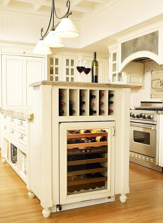 Wine Cabinet In The Kitchen Pictures, Photos, and Images ...