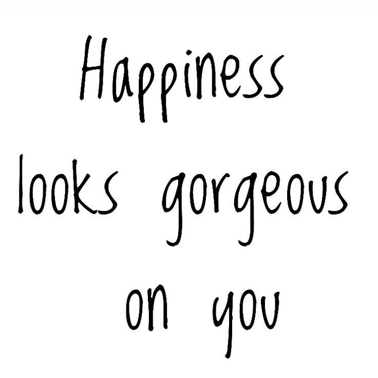 Image result for happiness looks great on you gif