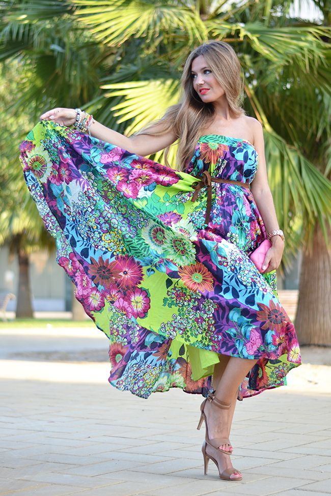 76038f6fa69d Bright   Colorful Summer Dress Pictures