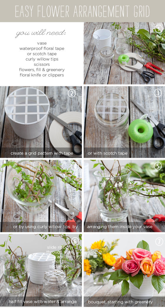 diy floral arrangement grid pictures photos and images