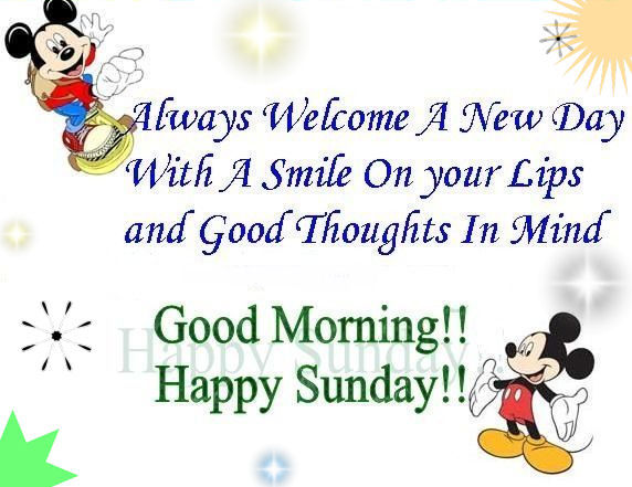 Good Morning And Happy Sunday Quotes : Happy sunday morning quotes quotesgram