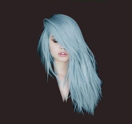 Light Turquoise Hair