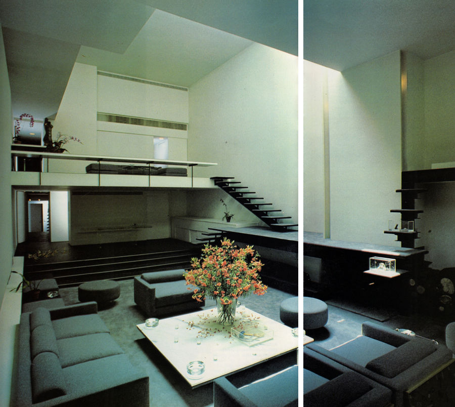 modern loft by architect paul rudolph pictures photos