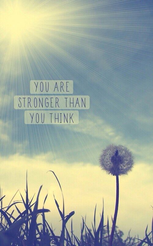 you are stronger than you think quotes quotesgram