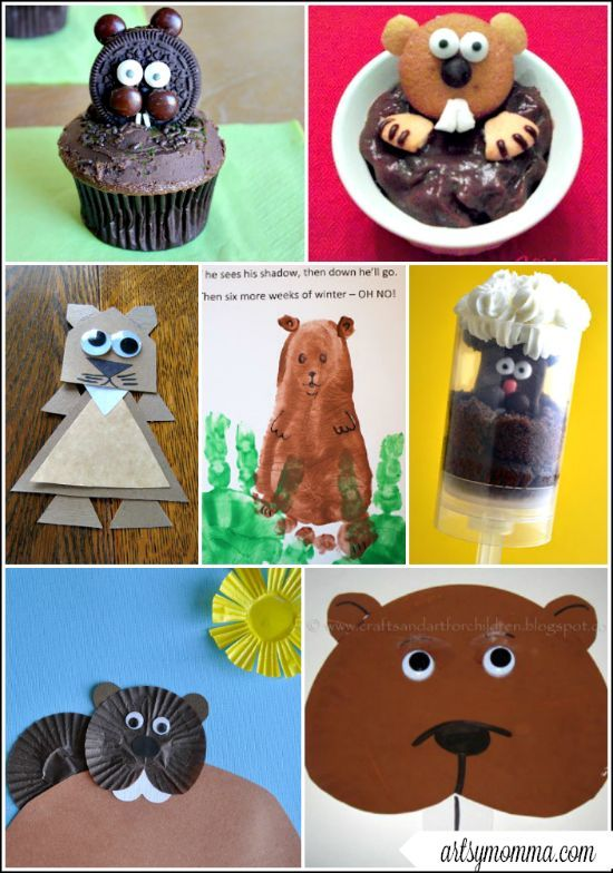 Diy Crafts For Groundhog Day
