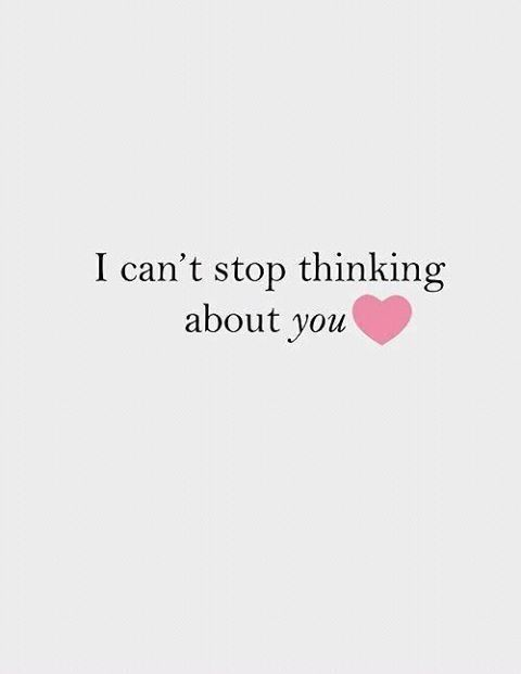 Quotes About Love U Cant Have : Cant Stop Thinking About You Pictures, Photos, and Images for ...