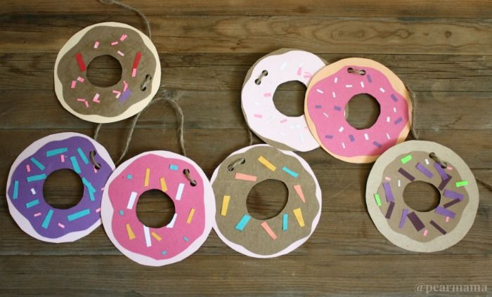 diy donut garland craft pictures photos and images for
