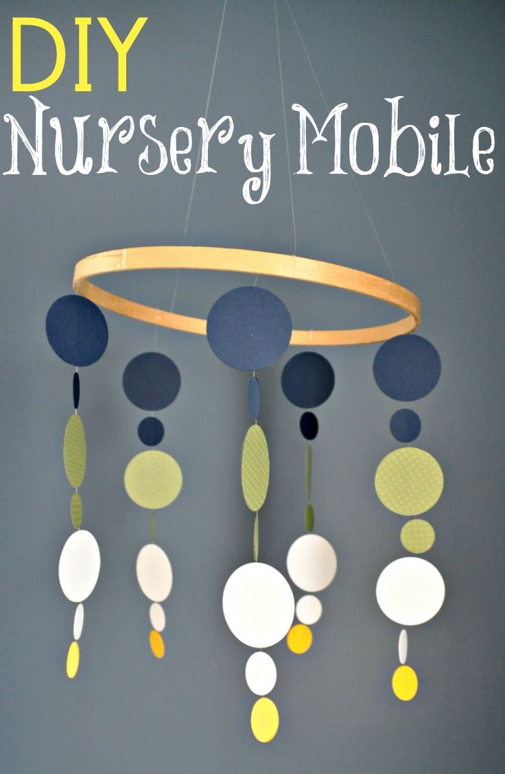 How To Make A Paper Nursery Mobile