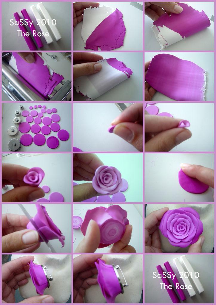 Как из пластика сделать цветы из