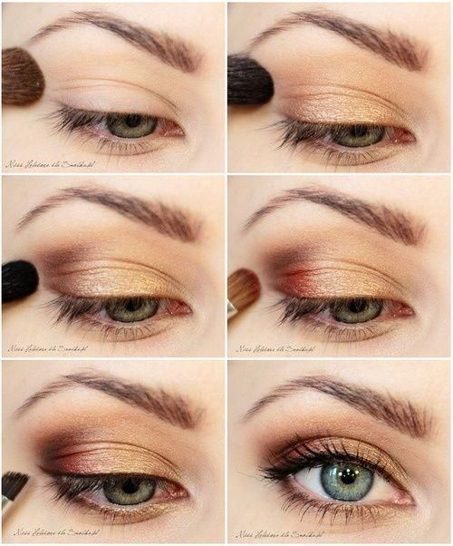 DIY Bronze Eye Makeup Tutorial Pictures, Photos, and ...