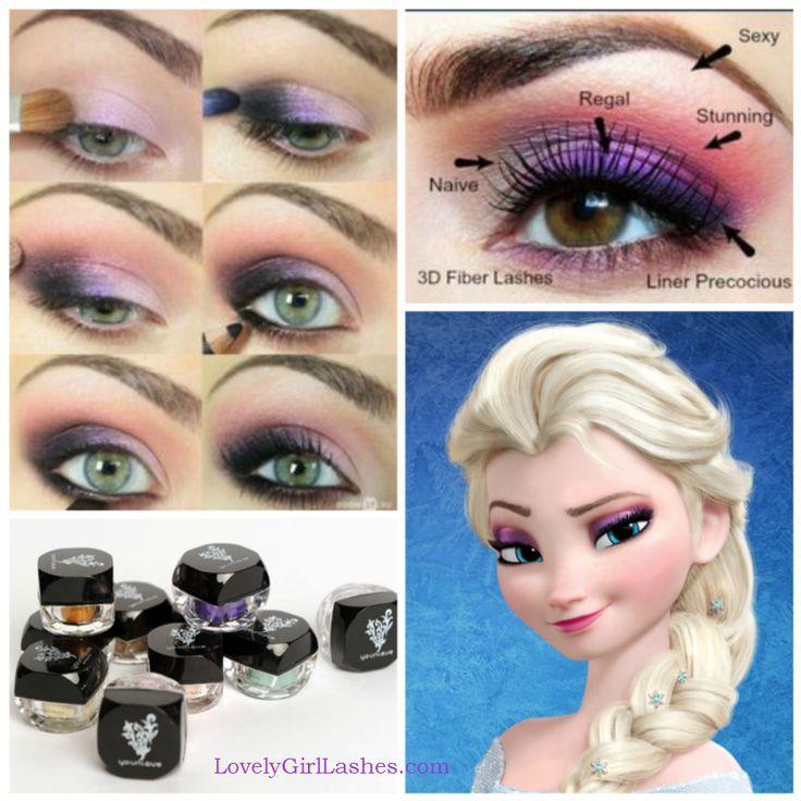 Elsa makeup videos