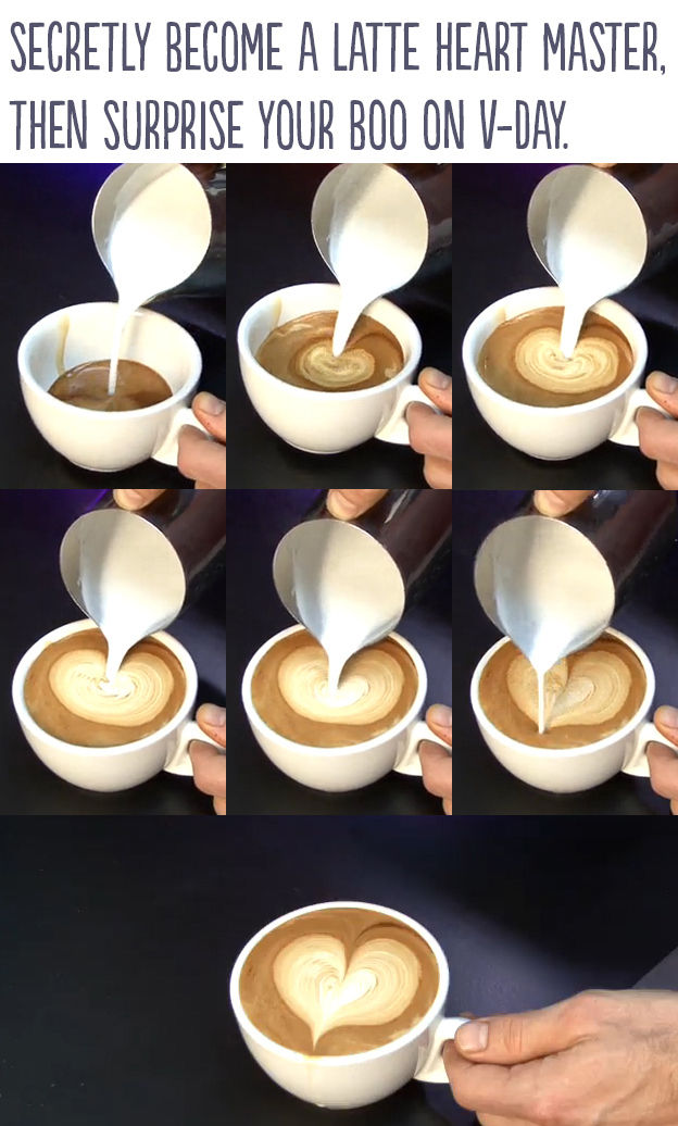 Diy Latte Heart Pictures Photos And Images For Facebook