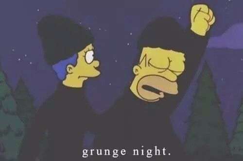 simpsons valentines day quotes - Grunge Night s and for