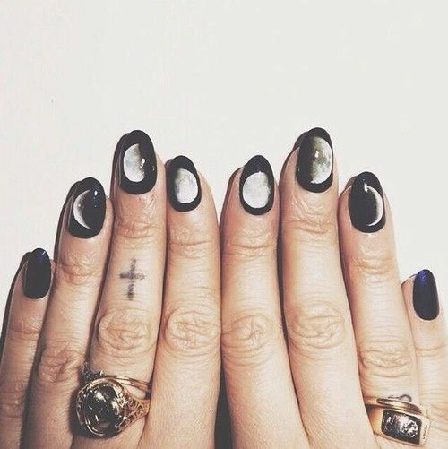 Black moon nail art - Black Moon Nail Art Pictures, Photos, And Images For Facebook