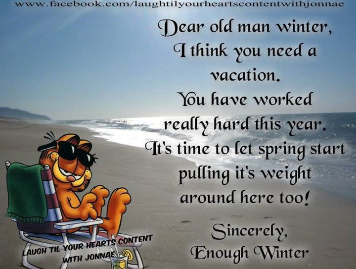 Dear Old Man Winter