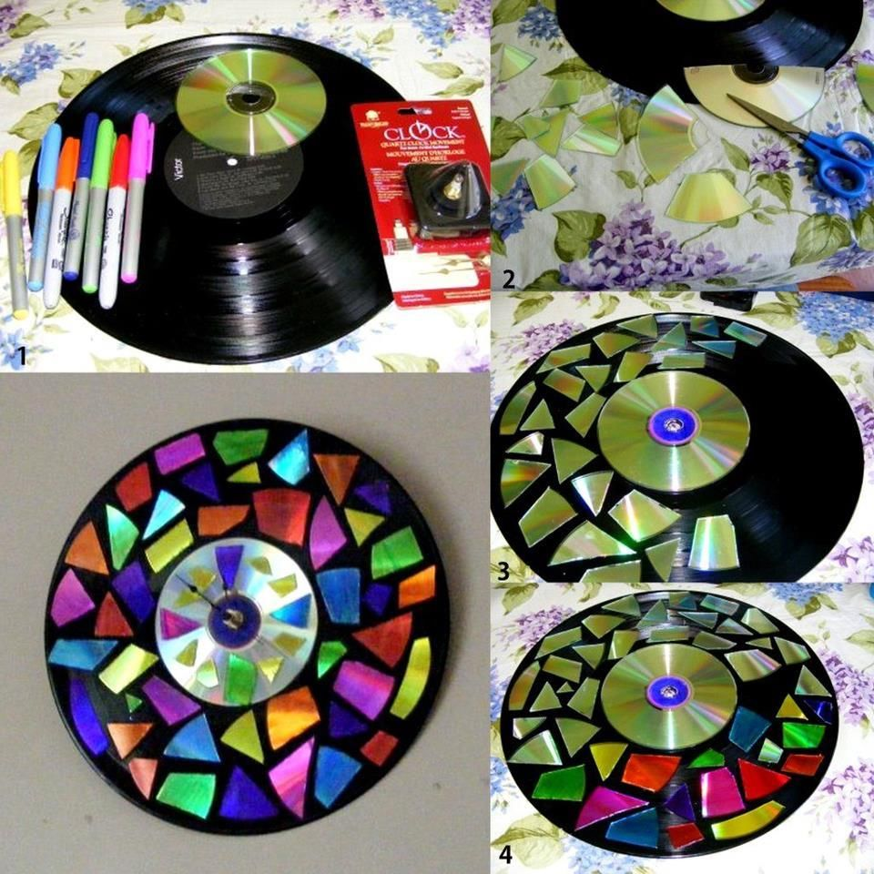 DIY Vinyl Clock Pictures Photos And Images For Facebook Tumblr