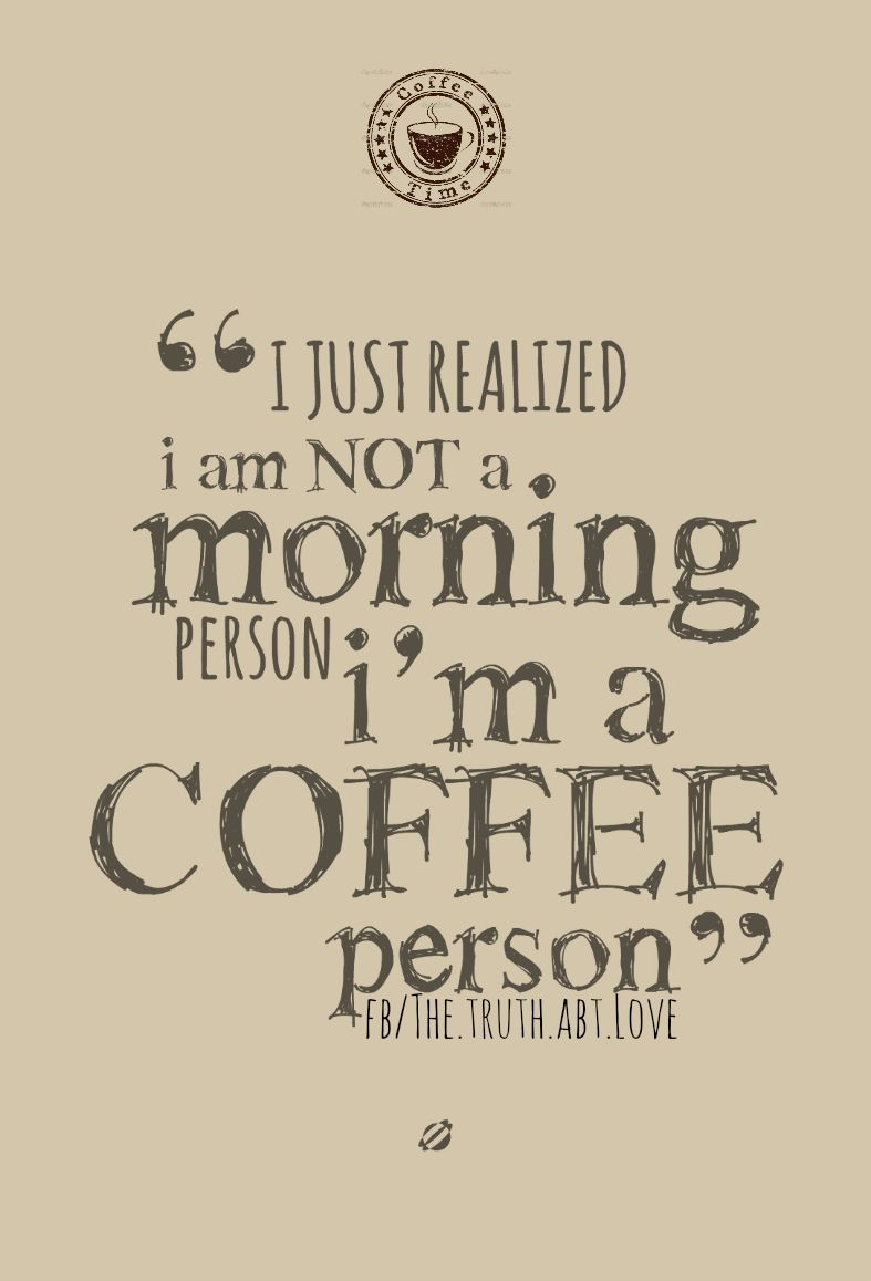 Coffee Love Quotes Tumblr: Coffee Person Pictures, Photos, And Images For Facebook