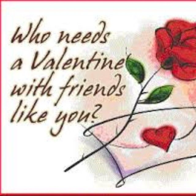 Friend Valentines Quotes: Happy Valentines Day Friends Pictures, Photos, And Images
