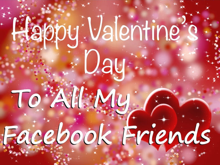 Happy Valentines Day Facebook Friends