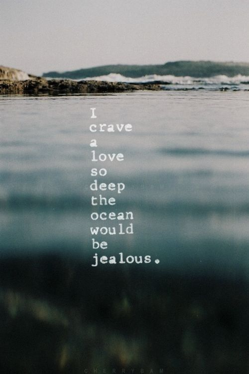 Deep Quotes About Love On Tumblr : love it a love so deep
