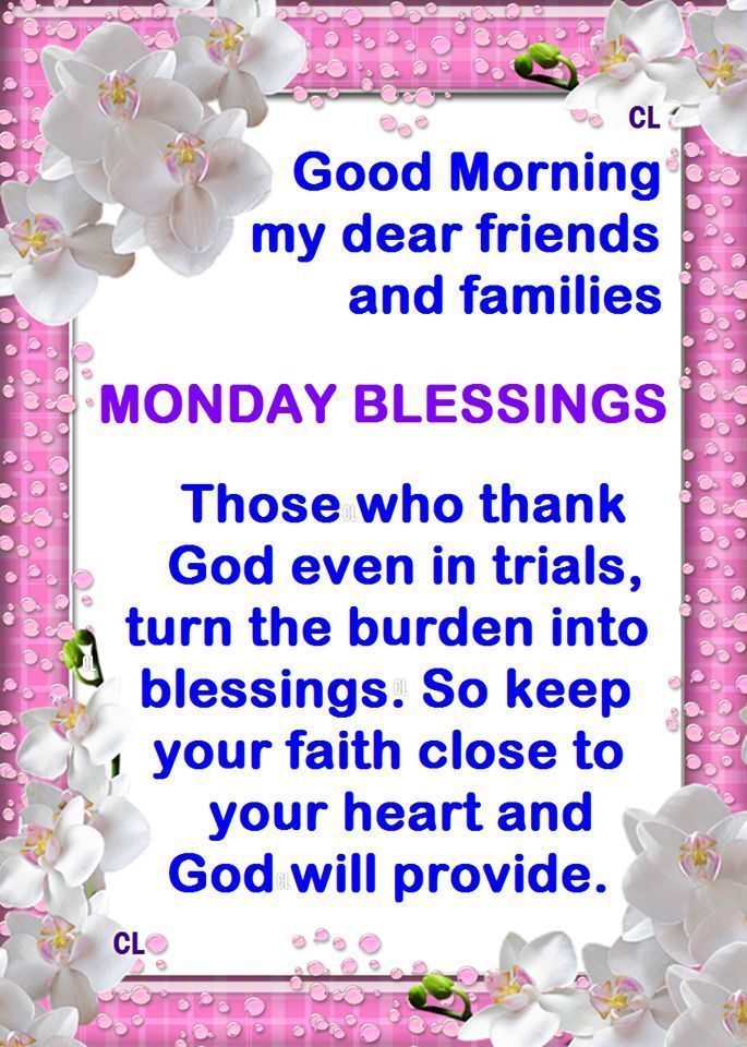 Monday morning blessings quotes quotesgram - Monday blessings quotes and images ...