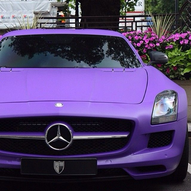 Purple Mercedes Pictures Photos And Images For Facebook
