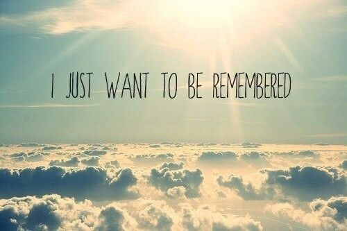 how i want to be remembered Your leadership legacy: how do you want to be remembered march 9, 2016 | the leader in me this is a guest post written by dr candace singh, superintendent.