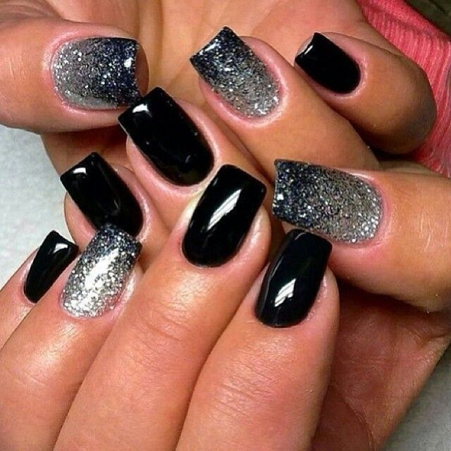 Black Ombre Nails Pictures, Photos, and Images for Facebook, Tumblr ...