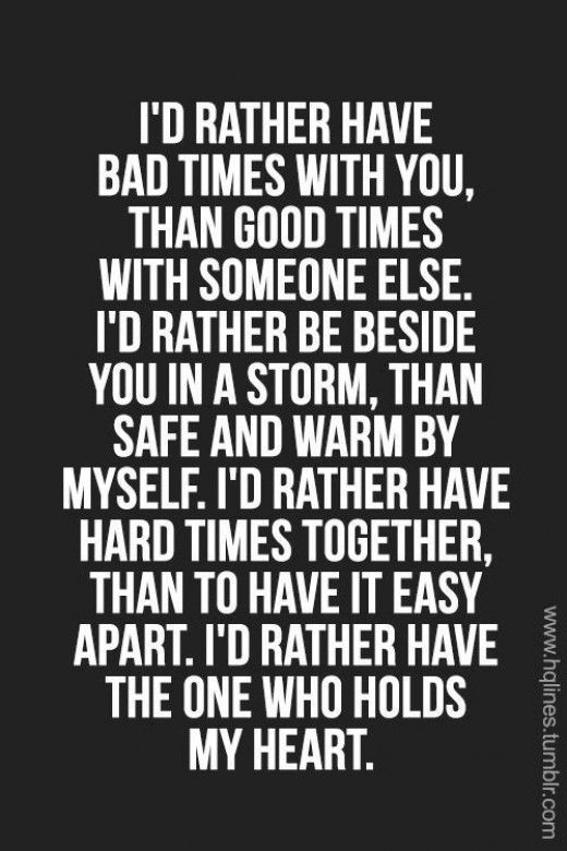Quotes About Hard Times Relationship