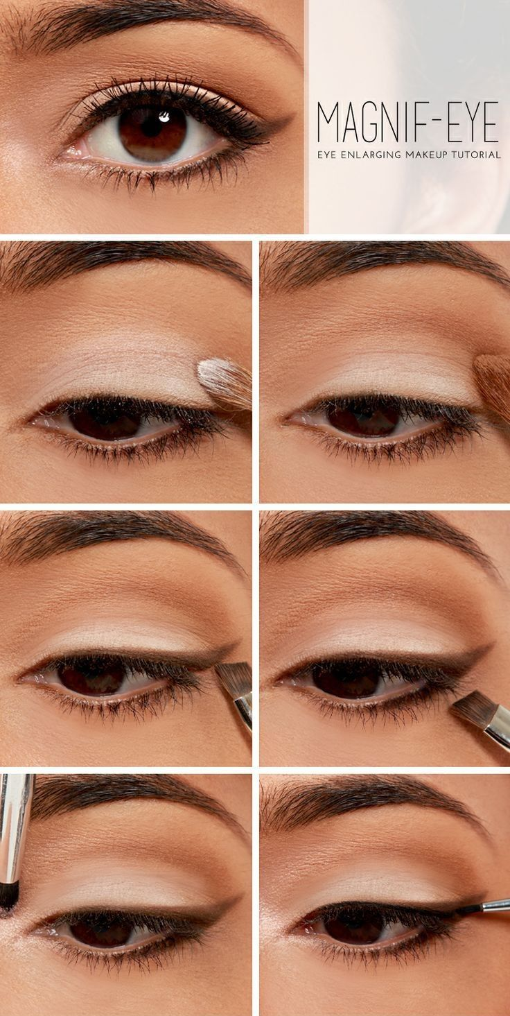 eye enlarging makeup pictures, photos, and images for