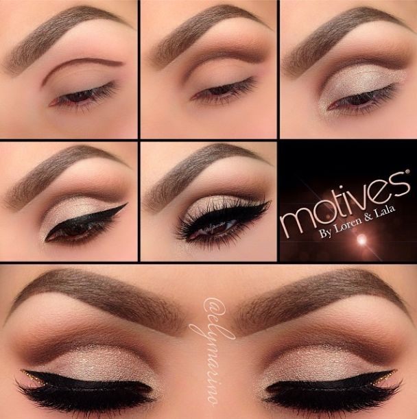 Easy Eye Makeup Tutorial Pictures Photos And Images For Facebook