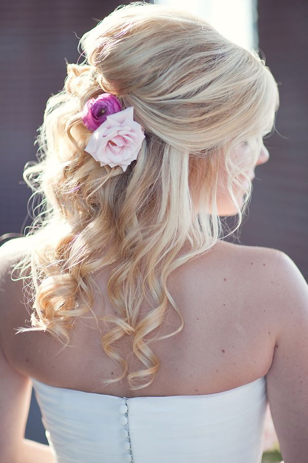 Flower Wedding Hairstyle Pictures Photos And Images For Facebook