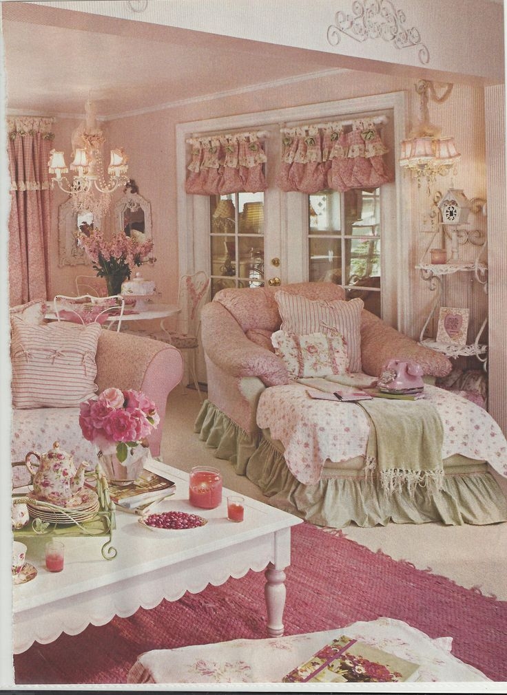 Country Pink Living Room Pictures, Photos, and Images for Facebook ...