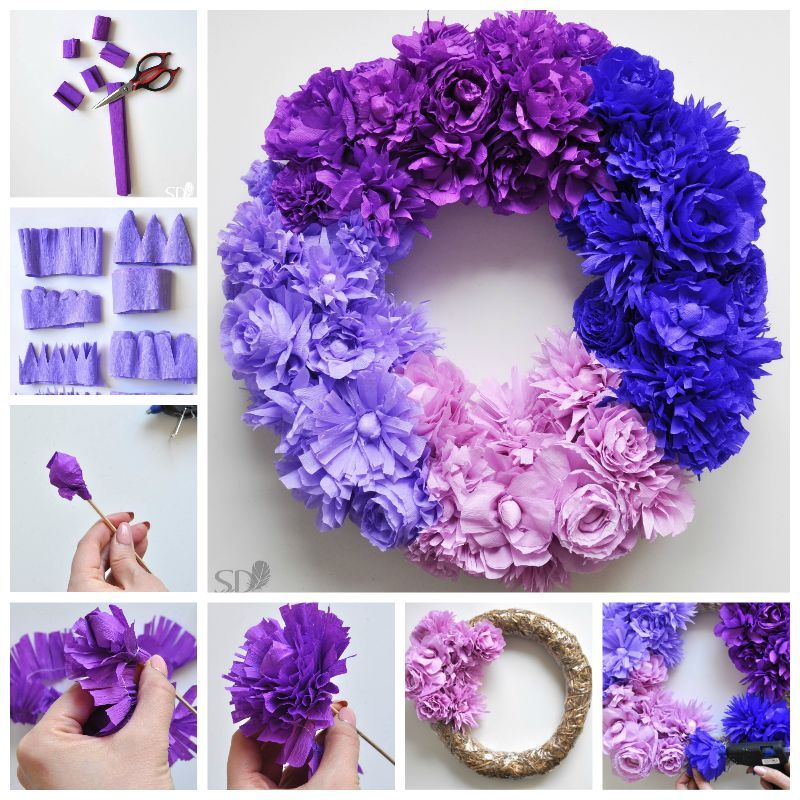 Diy flower wreath pictures photos and images for facebook tumblr