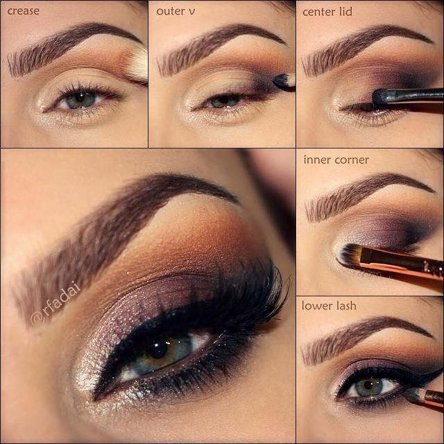 step by step eye makeup pictures photos and images for